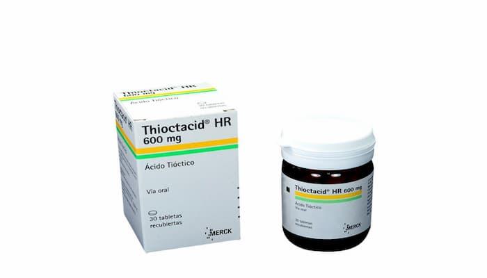 ácido tióctico