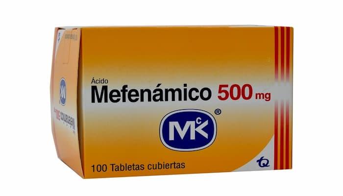 ácido mefenámico