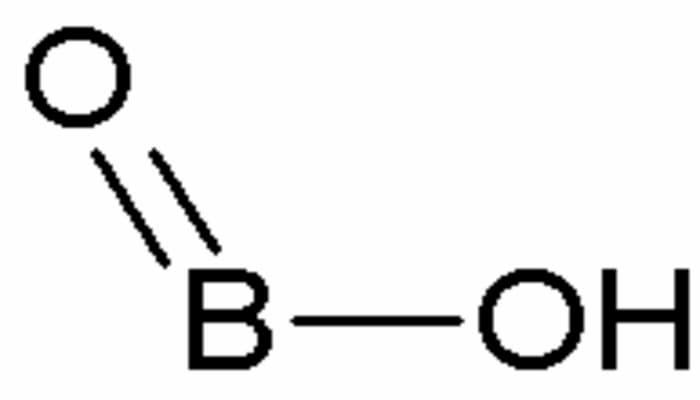 ácido metabórico